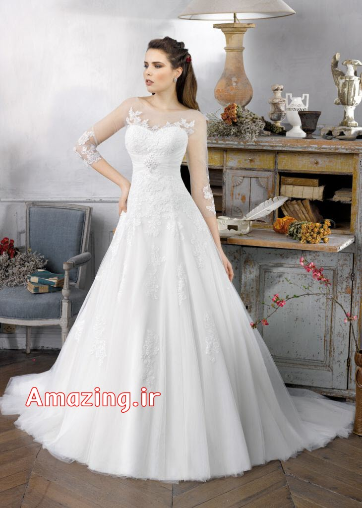 Trumpet Wedding Gowns 008 - Trumpet Wedding Gowns