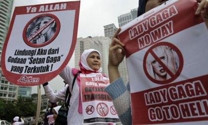 سفر لیدی گاگا به اندونزی جنجال ساز شد + عکس
