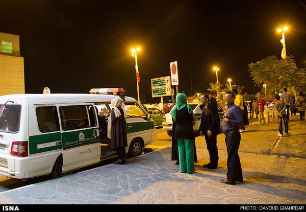 عکس های جدبد مبارزه با بدحجابی در برج میلاد تابستان ۹۲