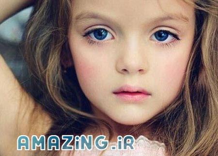 معروف ترین مانکن کودک جهان +عکس