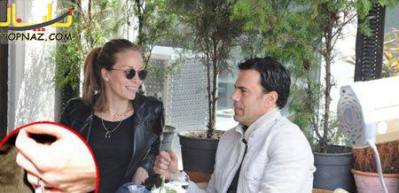 عکس بانو بازیگر سریال کوزی گونی و همسرش