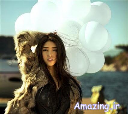 عکس های زیباترین دختر چین در سال ۲۰۱۳