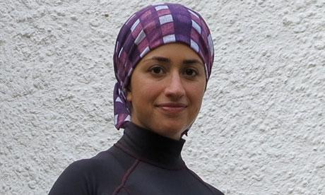 عکس شناگر زن