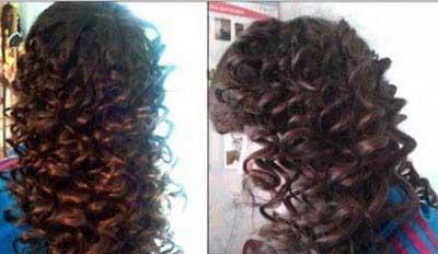 راهی ساده برای فرکردن موها
