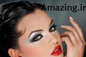 آموزش تصویری آرایش چشم جدید + عکس