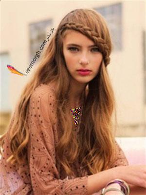 مدل های مو با بافت مخصوص دختران جوان 2013