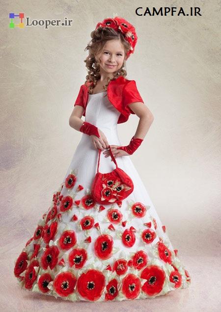 مدل لباس مجلسی 2014 کودک