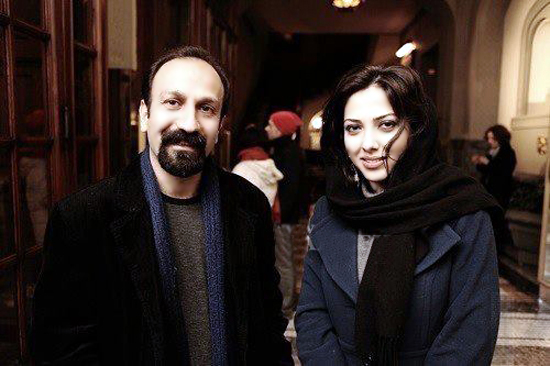 عکسی از اصغر فرهادی و لیلا اوتادی در پاریس