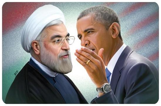 اس ام اس های طنر و خنده دار اوباما و روحانی
