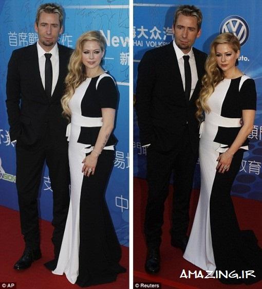 عکس های جدید آوریل لاوین با همسرش 2013