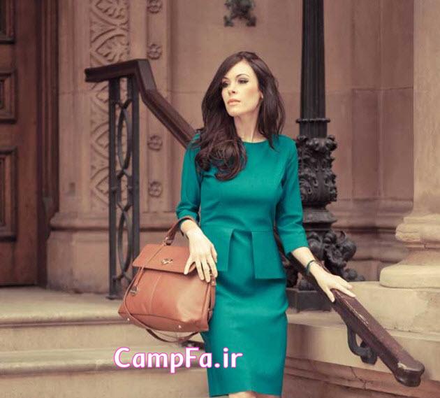 مدل کت و دامن سبز