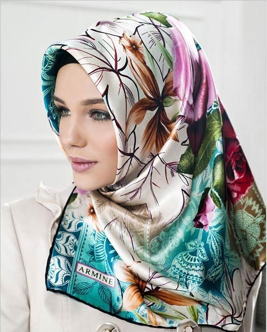 مدل روسری,ست مانتو وروسری,مدل لباس ترکی