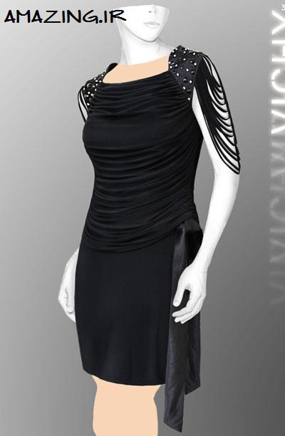 مدل لباس مجلسی کوتاه | لباس مجلسی ویچی 92