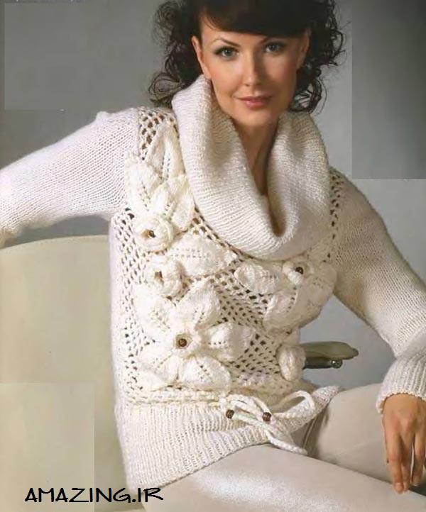 مدل لباس بافتنی زنانه,لباس بافتنی 2014,مدل لباس بافتنی زمستان 92