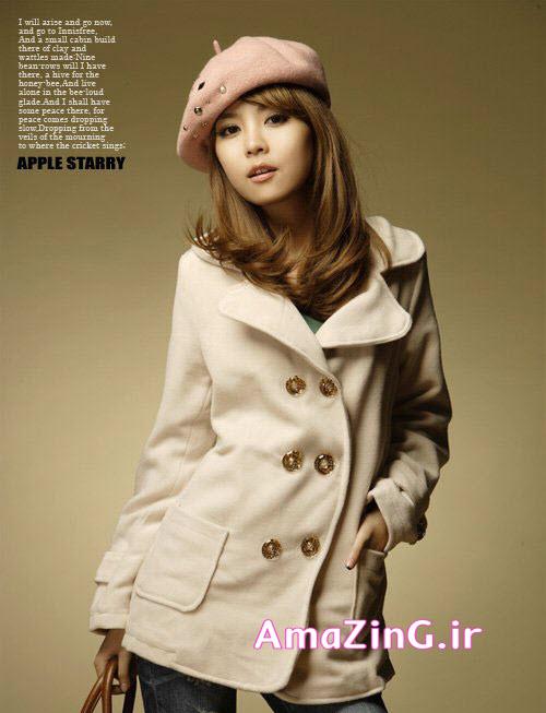 مدل پالتو دخترانه کره ایی 2014