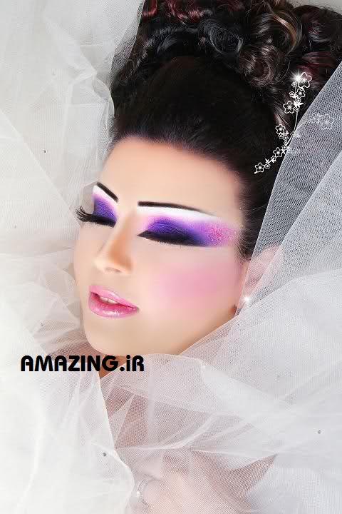 جدیدترین مدل آرایش عروس 2014