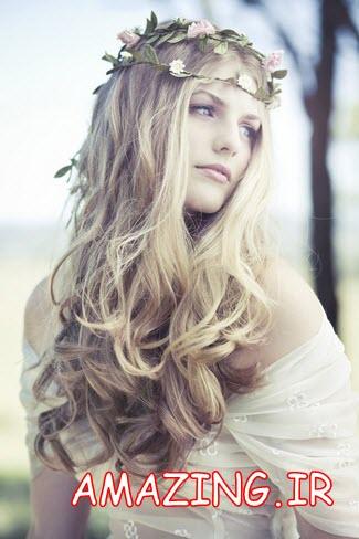 جدیدترین مدل مو عروس 2014 | شینیون مو عروس