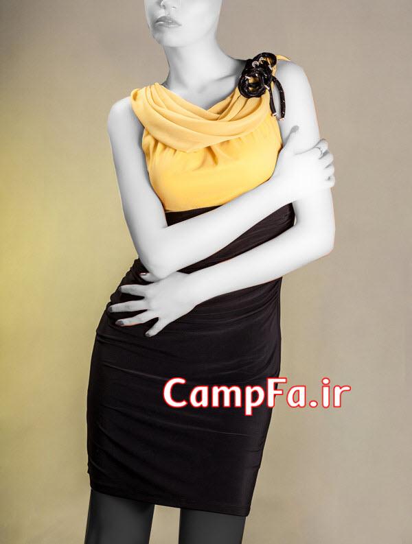 مدل لباس مجلسی کوتاه 2014,مدل سارافون مجلسی 2014