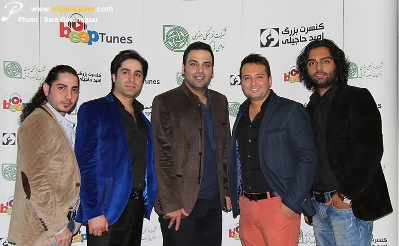 عکس های کنسرت امید حاجیلی,احسان علیخانی