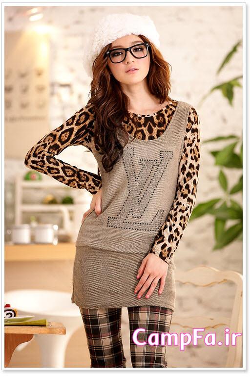 مدل پیراهن کرهایی ,مدل بلوز کره ایی