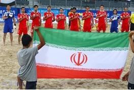 گل های بازی فوتبال ساحلی ایران با روسیه