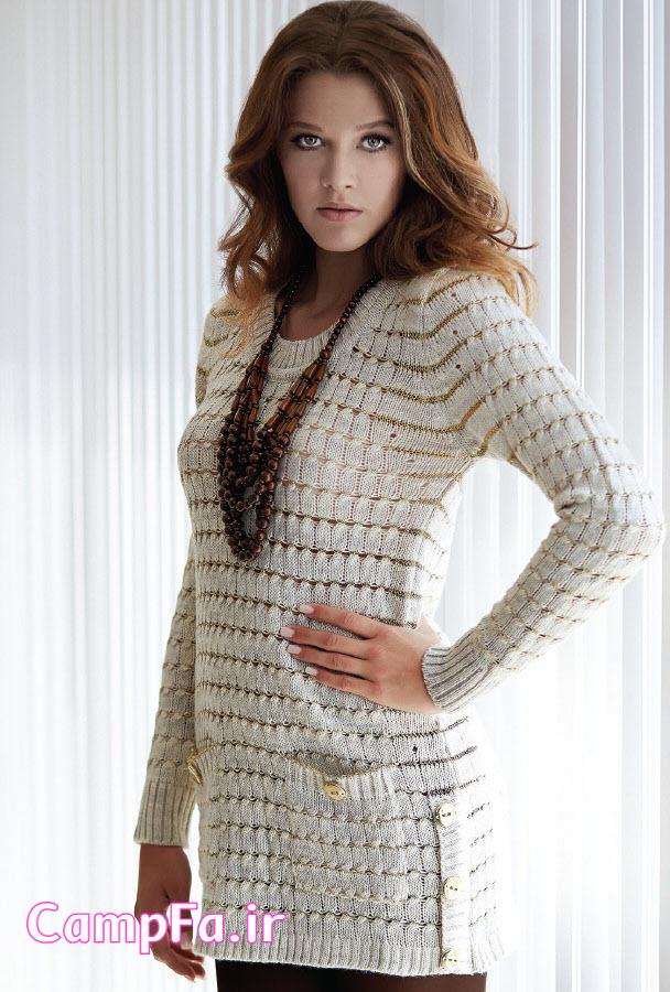 مدل لباس بافتنی , تونیک بافتنی , ژاکت بافتنی زنانه , لباس بافتنی دخترانه , لباس بافتنی شیک