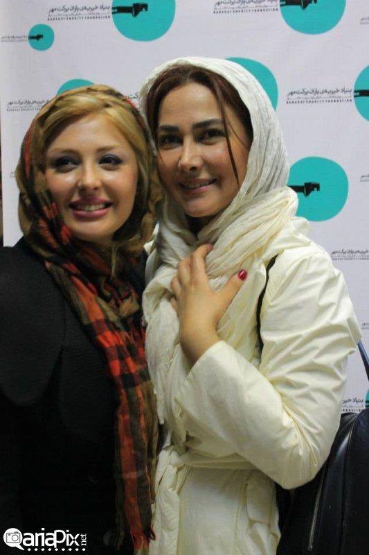 عکس بازیگران اذر 92 , عکس های جدید هنرمندان ,عکس های بازیگران در خیریه برکت