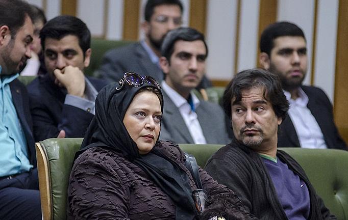 عکس های بازیگران و همسرانشان , عکس بهاره رهنما و همسرش پیمان قاسم خانی