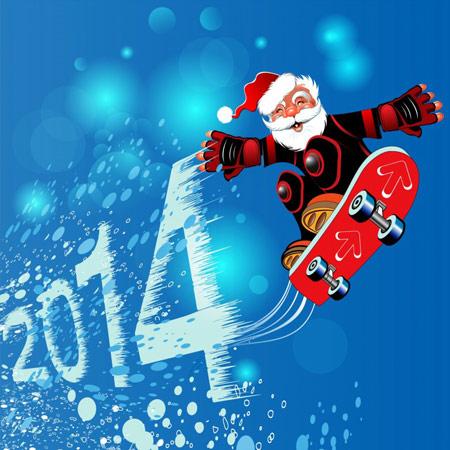 تصاویر کریسمس 2014,عکس کریسمس 2014,کارت پستال کریسمس 2014