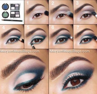 آرایش چشم,مدل آرایش چشم ,مدل سایه چشم ,مدل آرایش