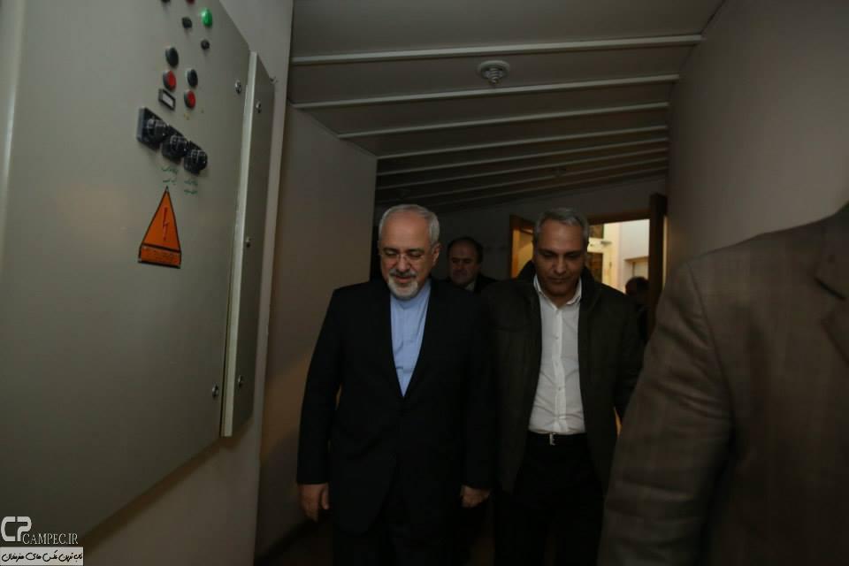 عکس های مهران مدیری و محمد جواد ظریف , عکس های ظریف در سریال شوخی کردم , عکس های پشت صحنه سریال شوخی کرد