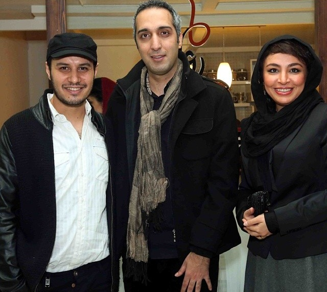 عکس های بازیگران و همسرانشان , عکس جواد عزتی و همسرش مه لقا باقری