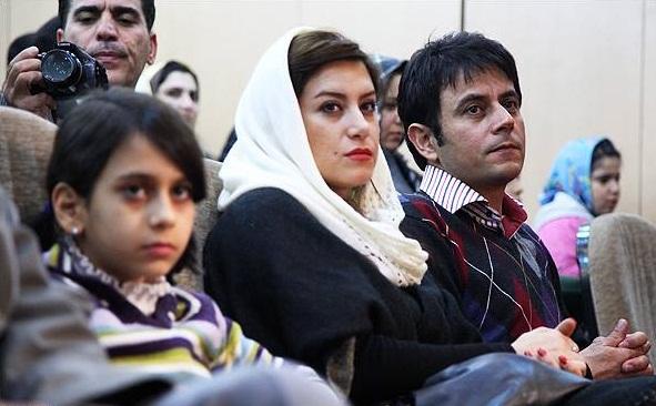 عکس های بازیگران و همسرانشان , عکس رحیم نوروزی و همسرش