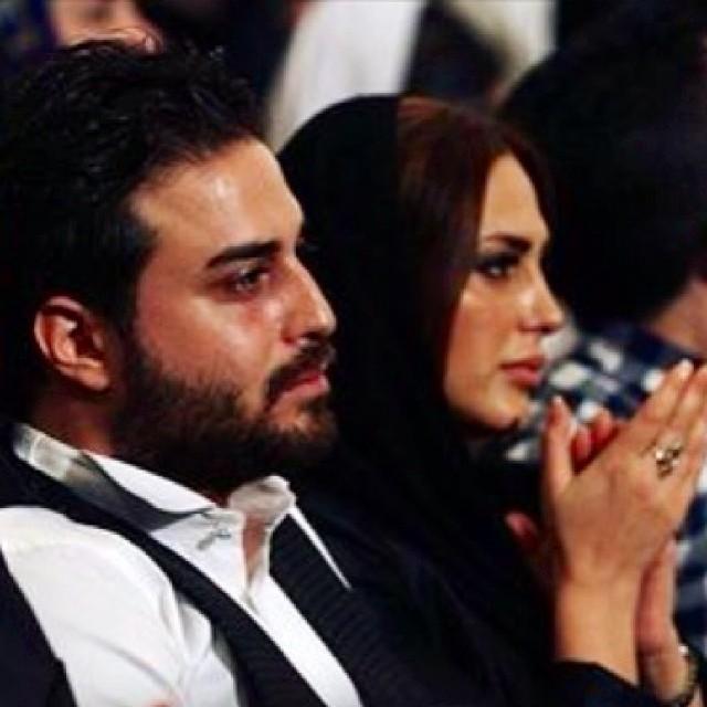 عکس های بازیگران و همسرانشان , عکس بابک جهانبخش و همسرش