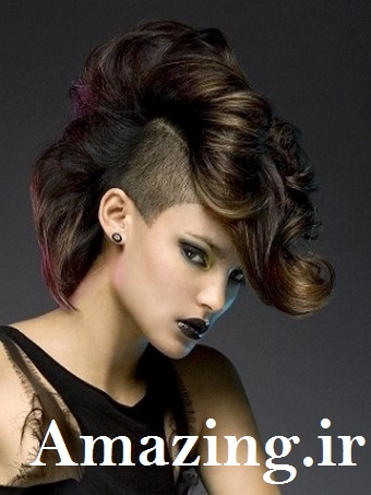 مدل مو مجلسی 2014  , مدل رنگ مو 2014,رنگ مو زنانه 2014 , مدل مو کوتاه 2014