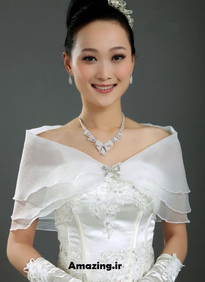 مدل شال عروس , مدل شال عروس 2014, مدل شال عروس کره ایی , مدل لباس عروس 2014 ,مدل لباس عروس کره ایی