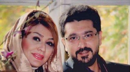 عکس امیرحسین مدرس و همسرش ,  عکس همسر امیر حسین مدرس , عکس زن امیر حسین مدرس