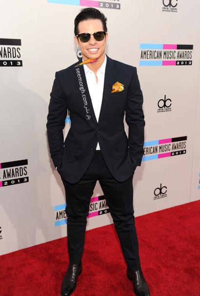 مدل لباس هنرمندان هالیوودی , Americam Music Award 2013