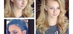 جدیدترین مدل موی باز و شینیون باز زنانه و دخترانه اروپایی