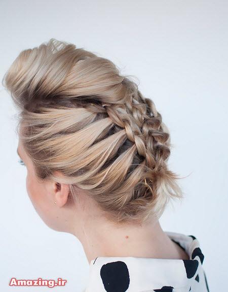 بافت مو , مدل بافت مو , بافت مو دخترانه , بافت مو عروس