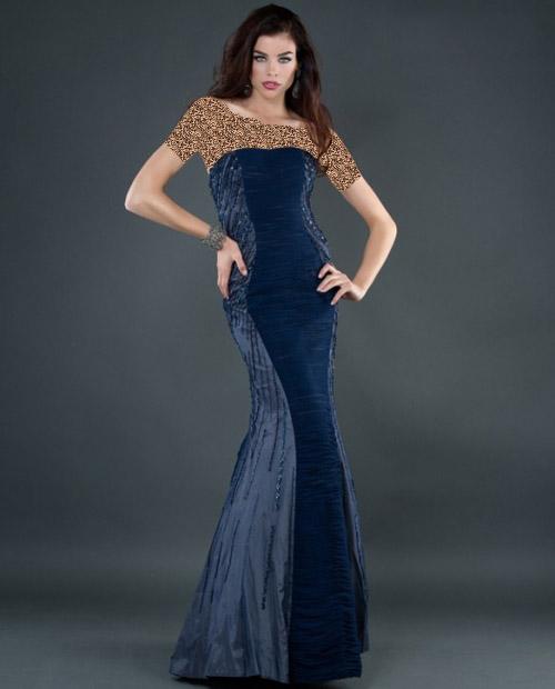مدل لباس مجلسی بلند 2014,مدل لباس مجلسی مشکی 2014
