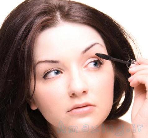 مقاله آرایشی , آرایشگاه مجازی , آموزش های تصویری آرایش چشم و کشیدن سایه چشم