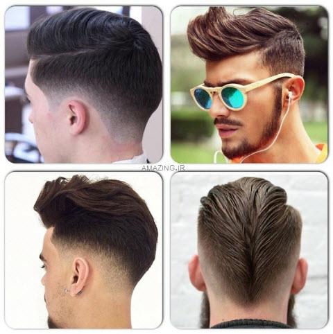 موی مردانه , مدل مو مردانه