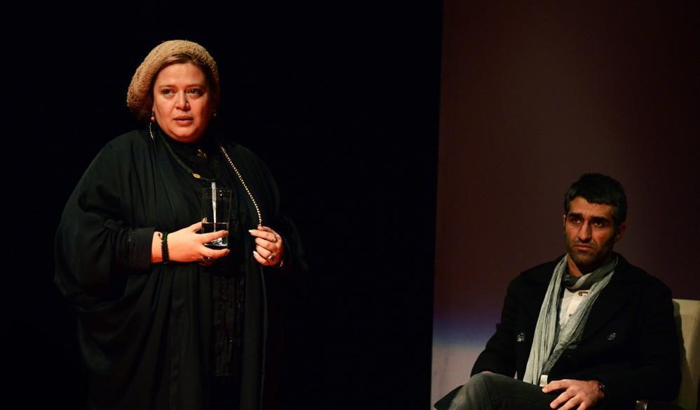 عکس های جدید پژمان جمشیدی   ,عکس های تئاتر پژمان جمشیدی , تئاتر پژمان جمشیدی و بهاره رهنما