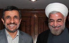 مناظره احمدی نژاد و روحانی