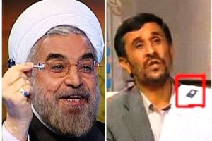 عکس مناظره رو حانی و احمدی نژاد ,خبرهایی از مناظره احمدی نژاد با روحانی