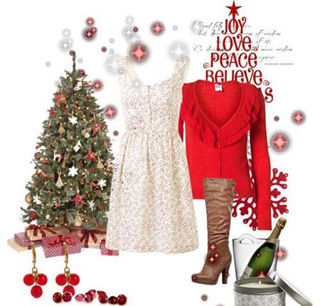 مدل لباس کریسمس 2014 ,مدل لباس مجلسی کریسمس 2014 ,ست لباس کریسمس 2014