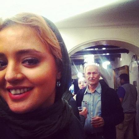 عکس های نرگس محمدی , پشت صحنه سریال ستایش 2