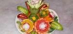 آموزش تزیین هندوانه و میوه آرایی برای شب یلدا + عکس