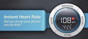 دانلود برنامه اندروید اندازه گیری میزان ضربان قلب Instant Heart Rate Pro v2.5.12